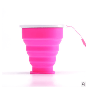 Outdoor portable collapsible water cup multi-function creative water cup