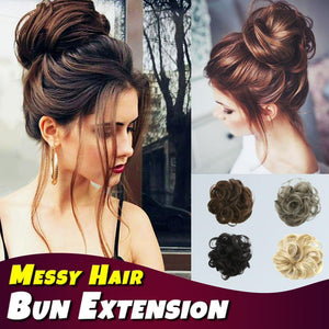 Messy Hair Bun Extension