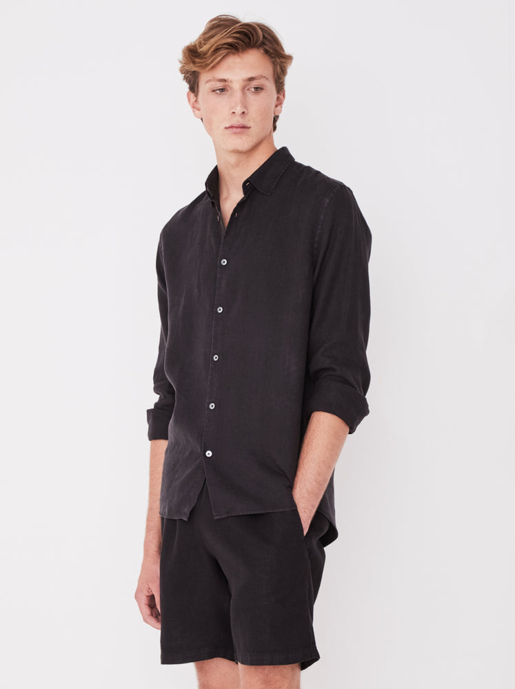 Assembly - Casual Longsleeve Shirt Black