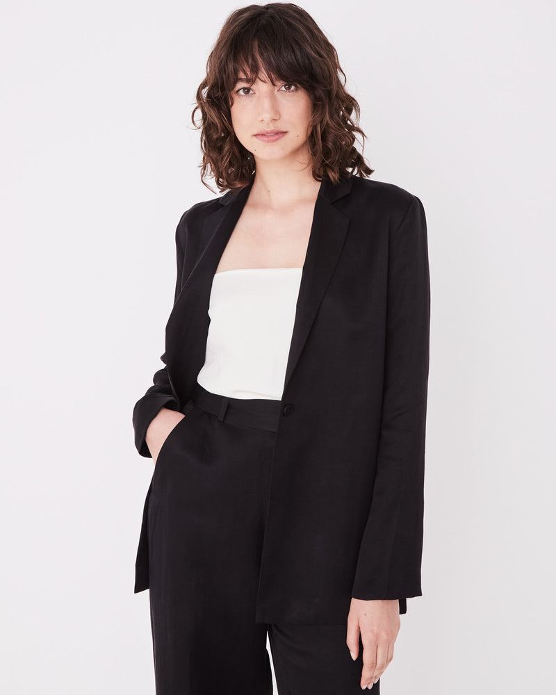Assembly - Column Blazer in Black