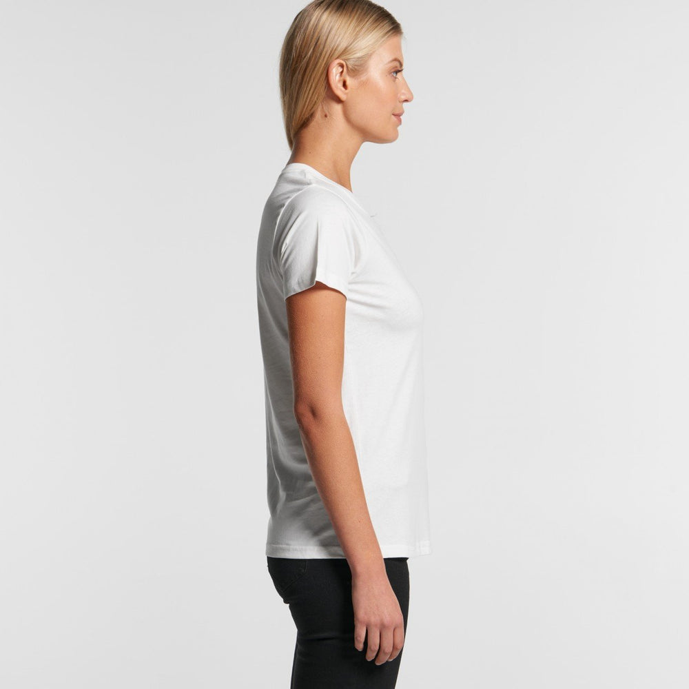 AS Colour - Womens Maple Organic Tee White