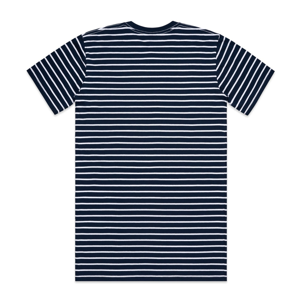 AS Colour - Mens Staple Stripe Tee Navy/White