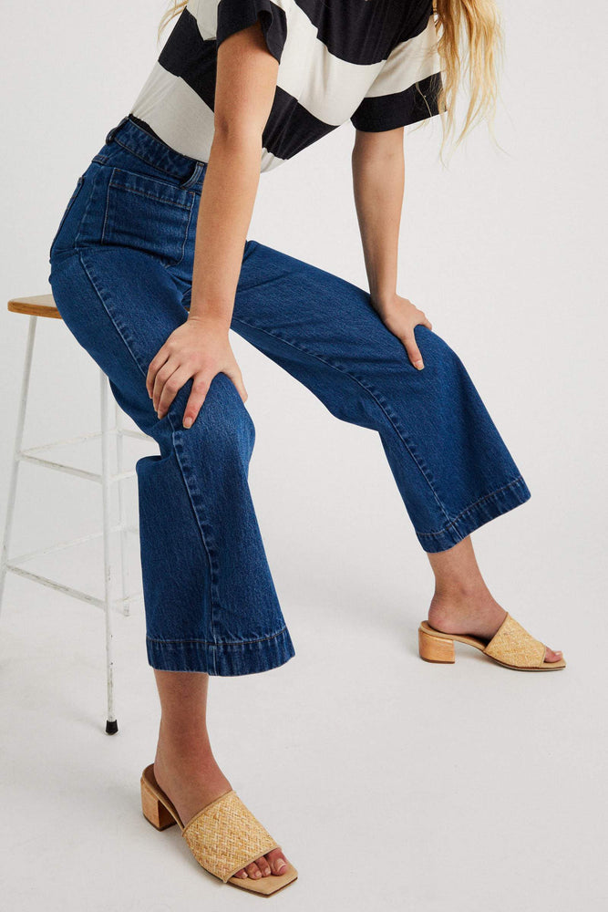 Rollas - Sailor Jean in Ashley Blue