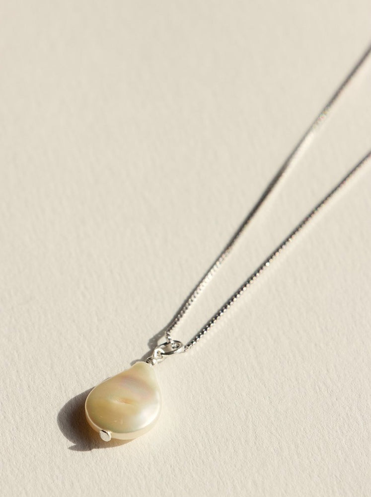 Brie Leon - 925 Fresh Pearl Pendent in Silver