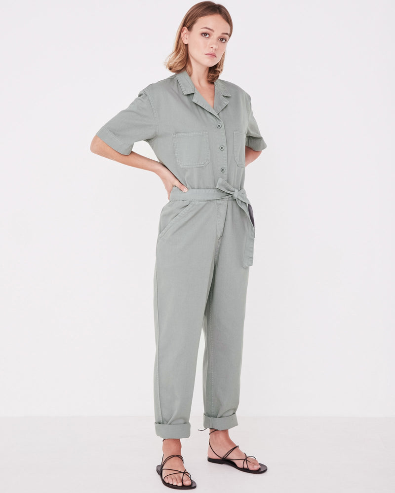 Assembly - Levy Boilersuit in Mineral Green
