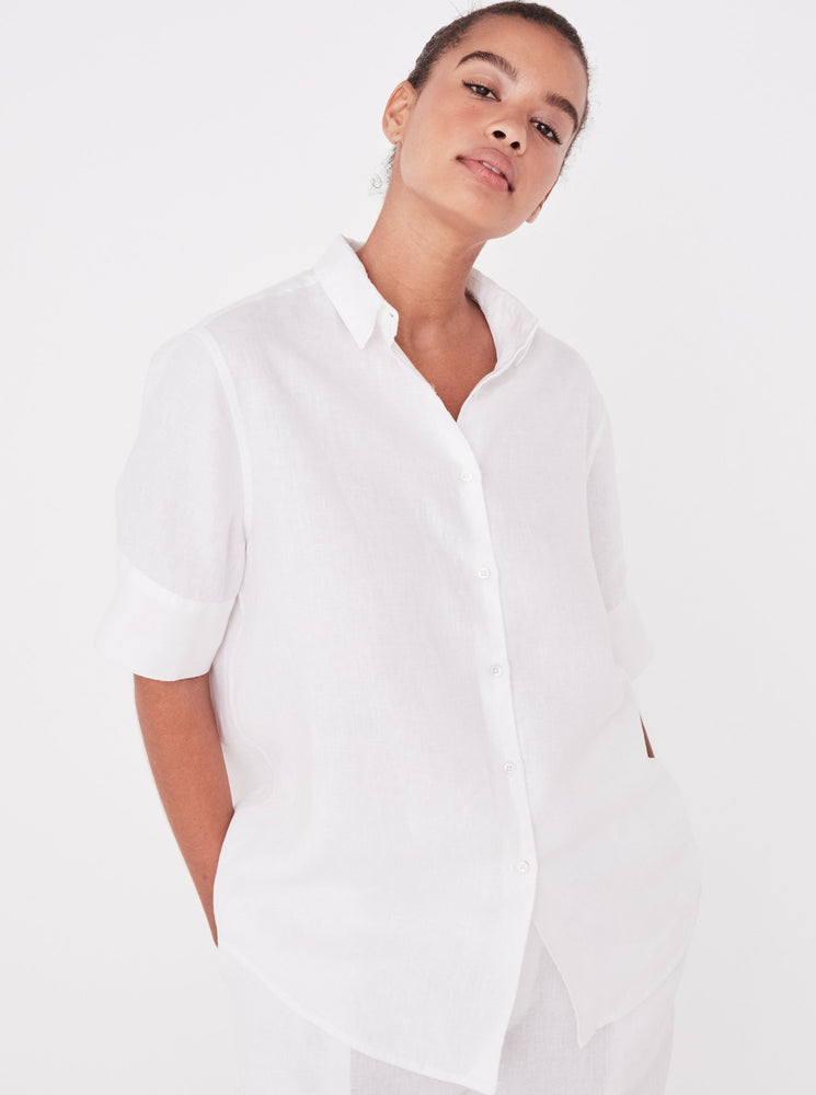 Assembly - Short Sleeve Shirt in White
