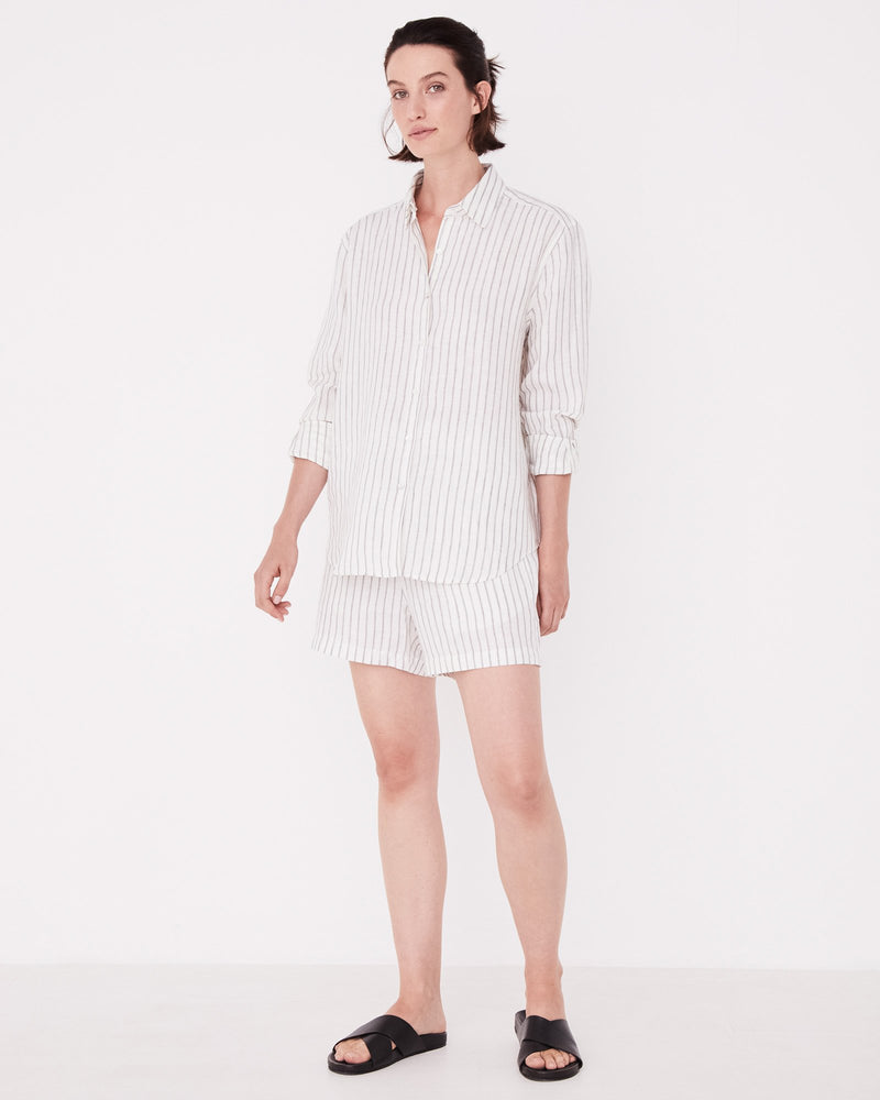 Assembly - Xander Long Sleeve Shirt in Airlie Stripe
