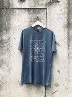 Abicus Records - Sunlight Tee in Faded Blue