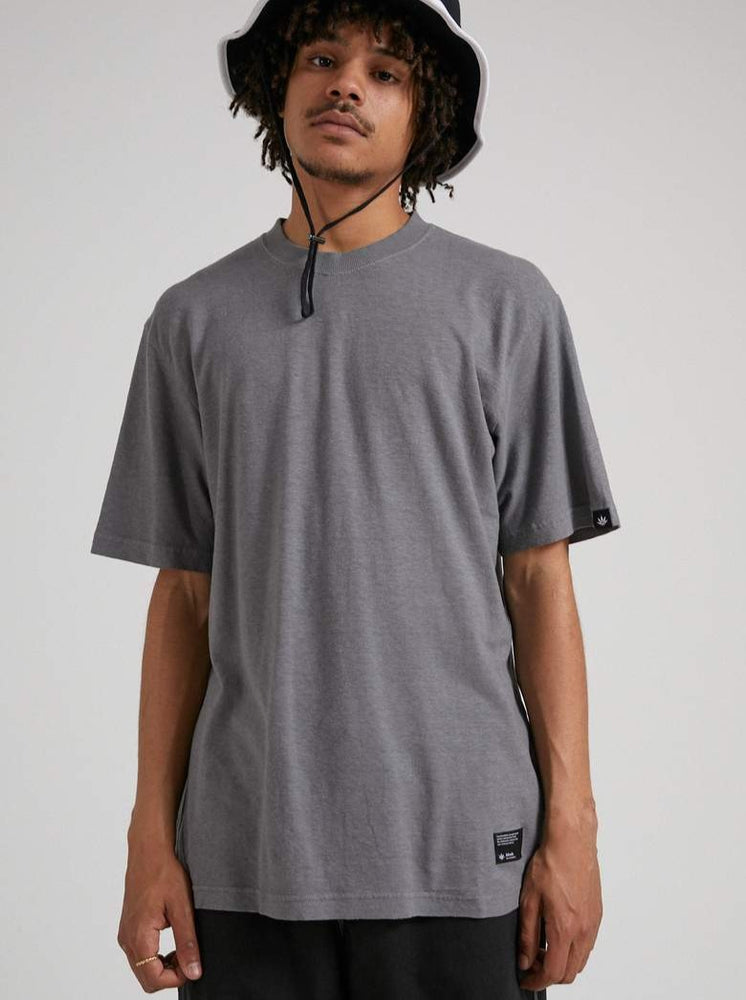 Afends - Classic - Hemp Retro Fit Tee - Gunmetal