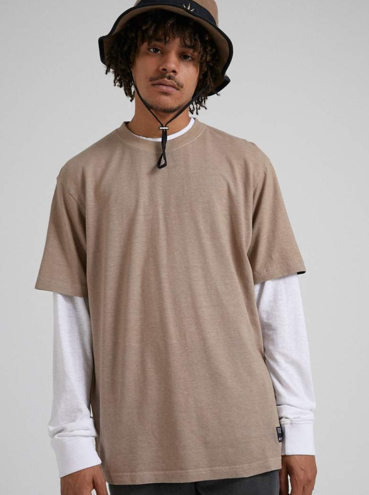 Afends - Classic - Hemp Retro Fit Tee - Sand