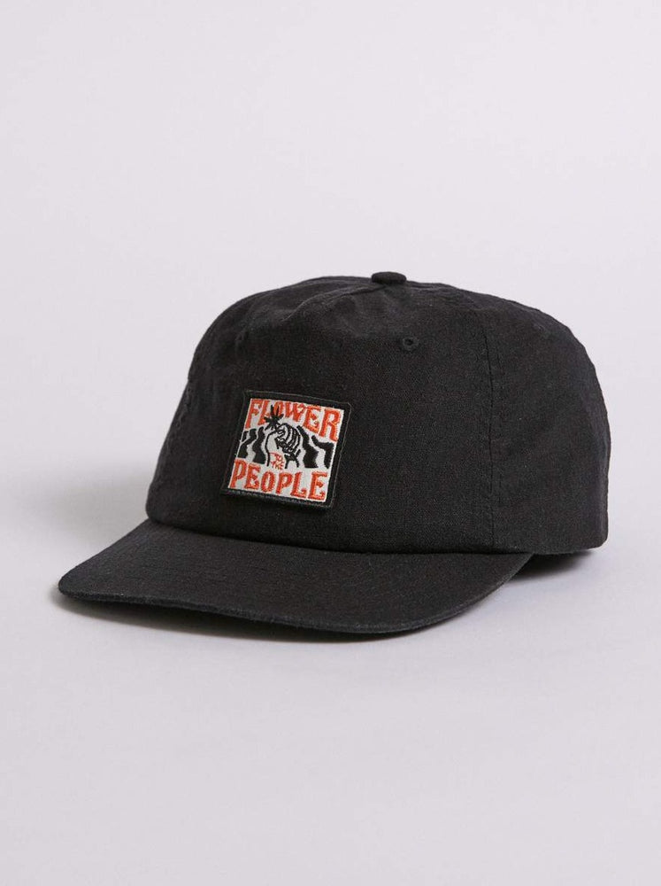 Afends - Flower To The People Hemp Cap in Black