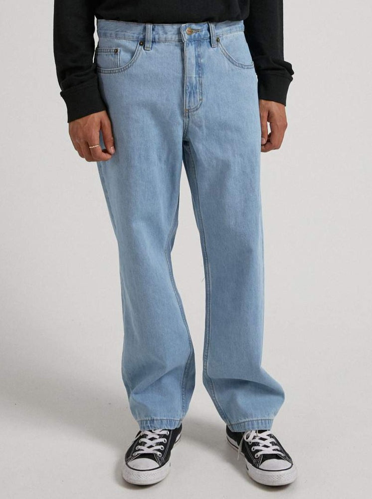 Afends - Ninety Twos - Hemp Relaxed Fit Jean - Stone Blue