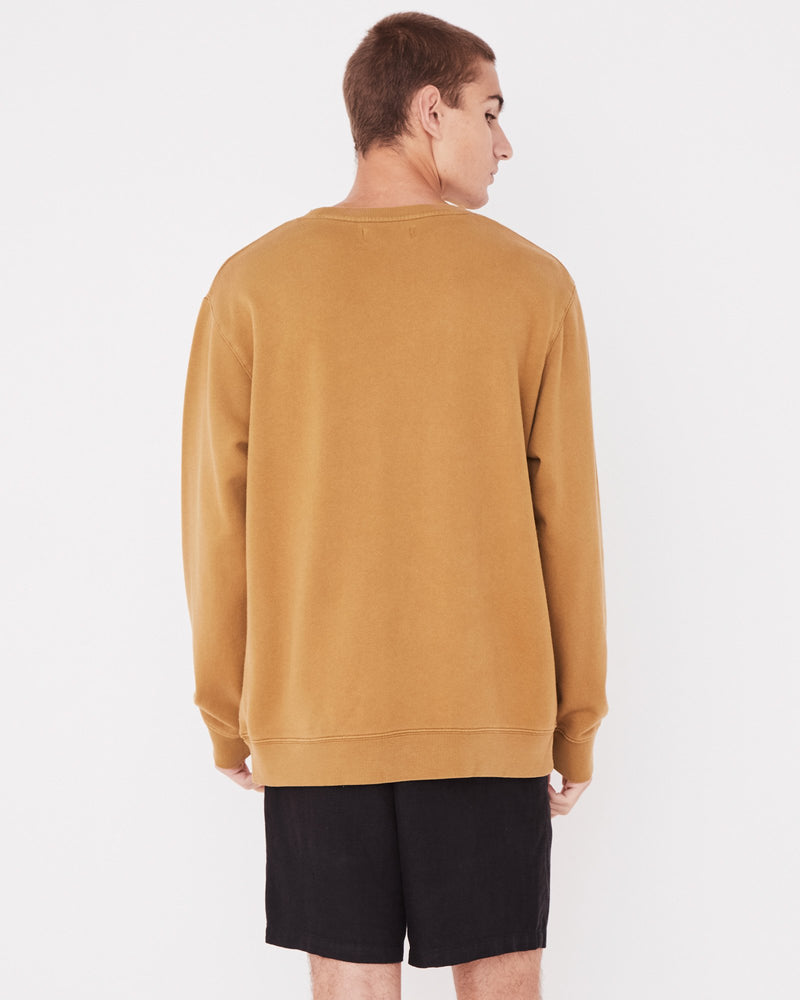 Assembly - Basic Crew Pullover in Sepia