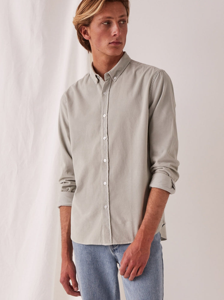 Assembly - Casual Long Sleeve Shirt in Green Mist