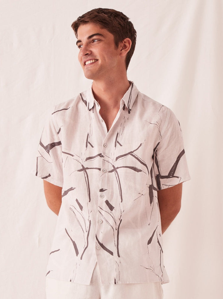 Assembly - Casual Short Sleeve Shirt in Summer Bamboo Print