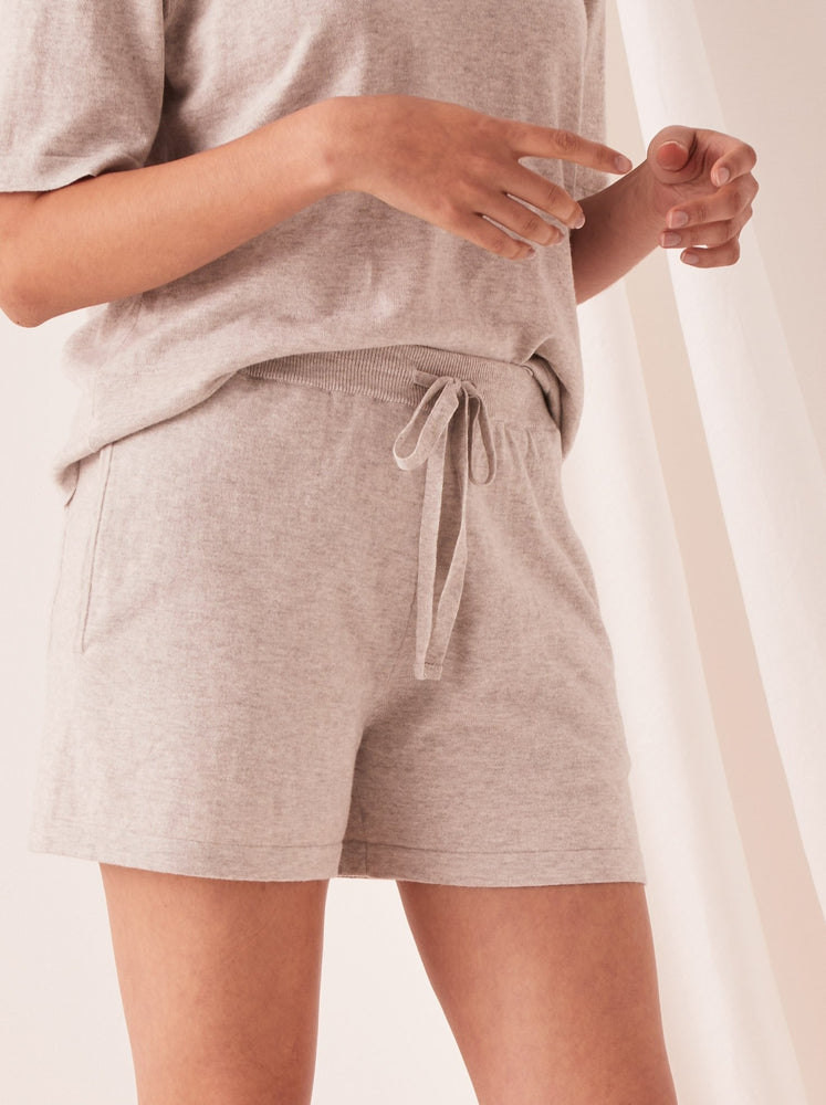 Assembly - Cotton Cashmere Lounge Short in Grey Marle