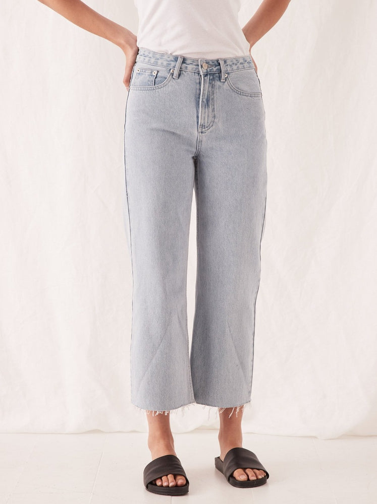Assembly - High Waist Flare Jean - Pacific Blue