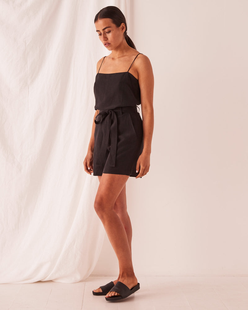 Assembly - Ivy Short in Black