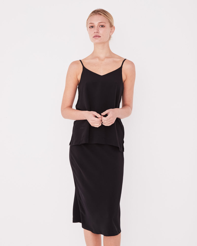Assembly - Malene Silk Cami in Black