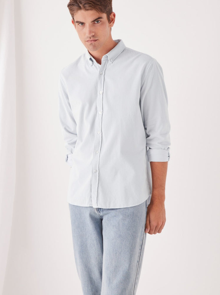 Assembly - Mens Cord Shirt in Seamist