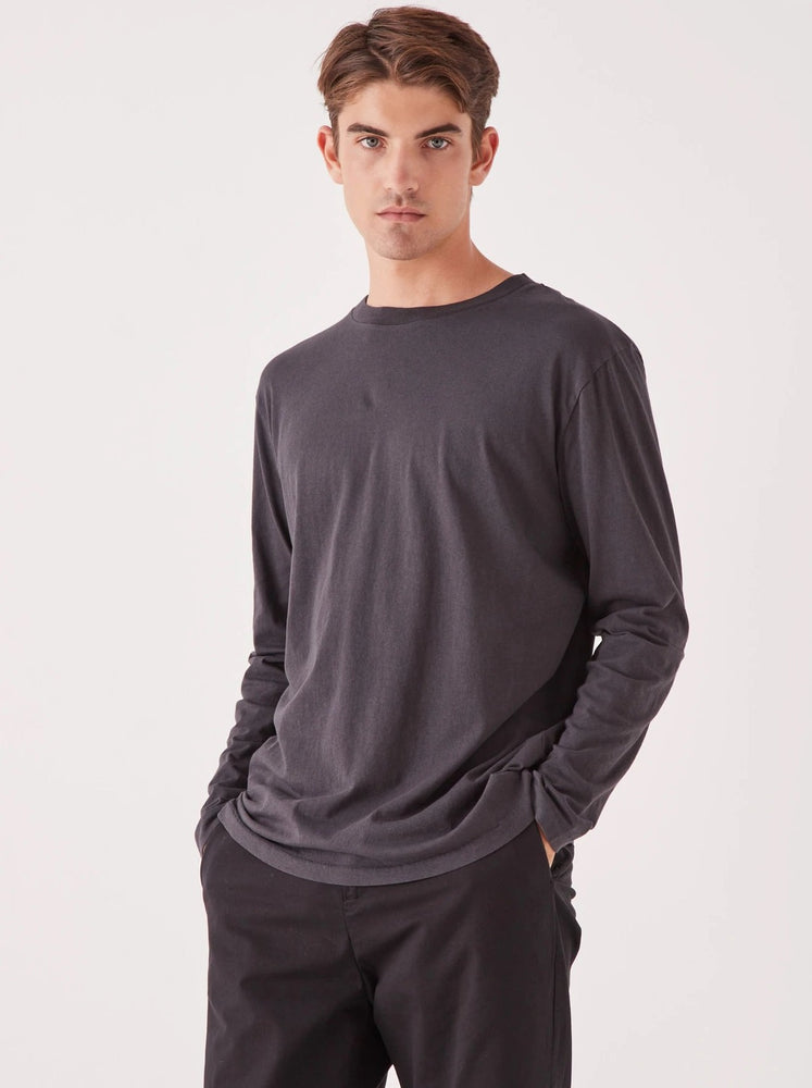 Assembly - Reuben Long Sleeve Tee - Washed Black