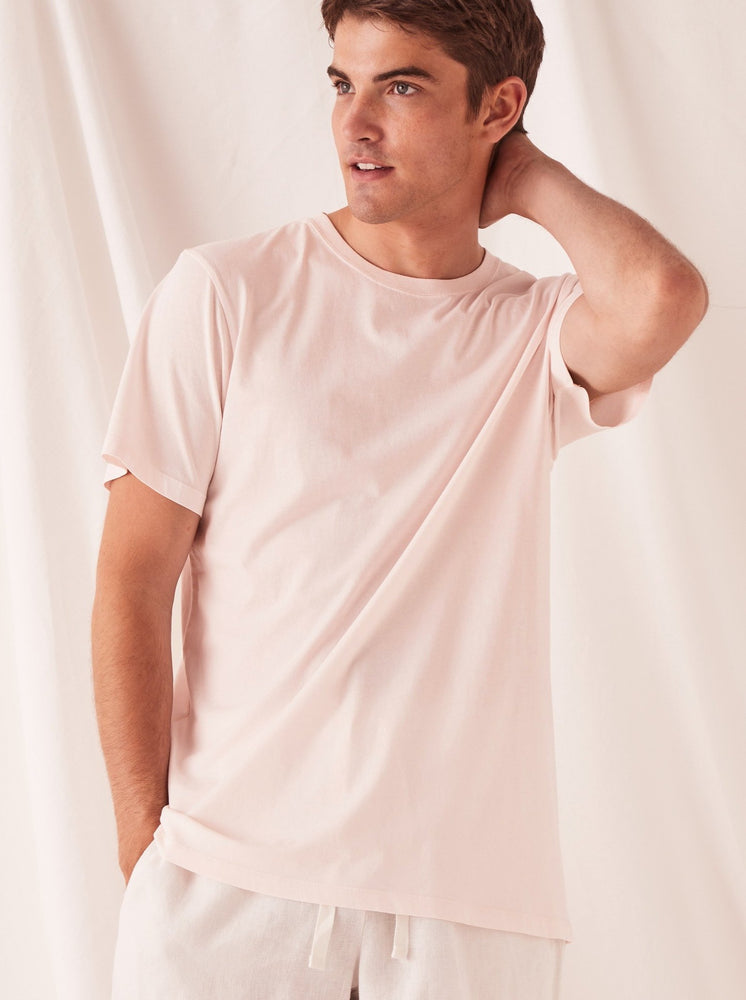 Assembly - Standard Tee in Pink Dew