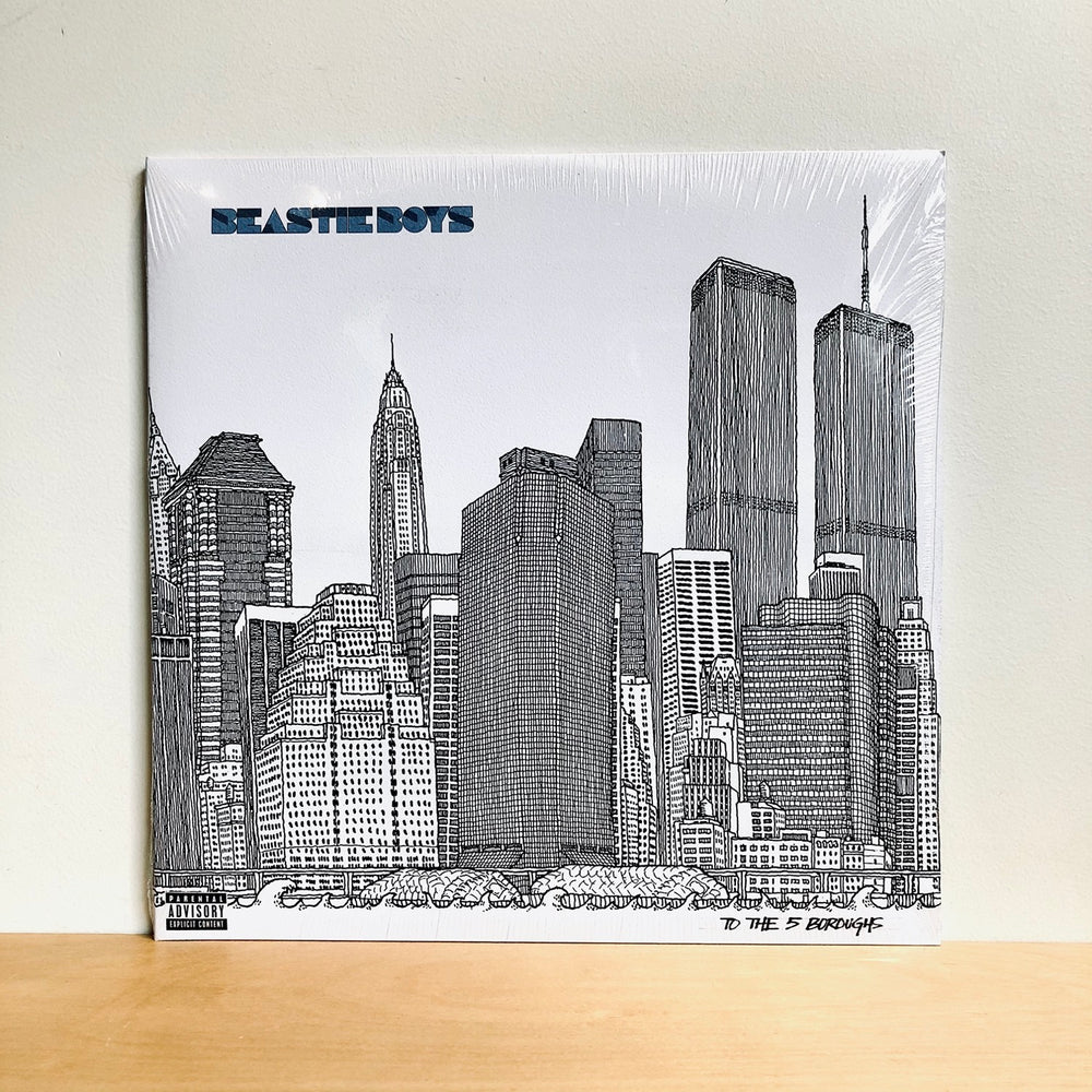 Beastie Boys - To The 5 Boroughs. 2LP [FRENCH PRESSING]