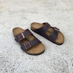 Birkenstock - Arizona - Oiled Natural Leather - Habana - Regular