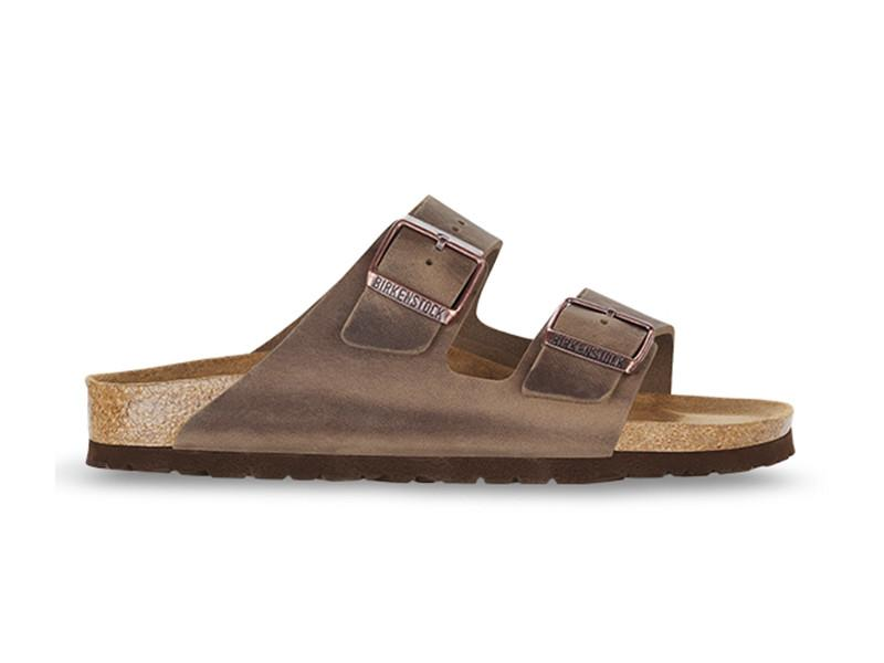 Birkenstock - Arizona Oiled Natural Leather - Tabacco - Regular