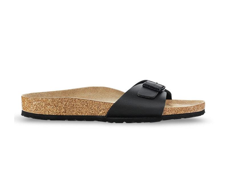 Birkenstock - Madrid - Birko Flor - Black - Regular