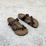 Birkenstock - Mayari - Natural Leather - Oiled Habana - Regular