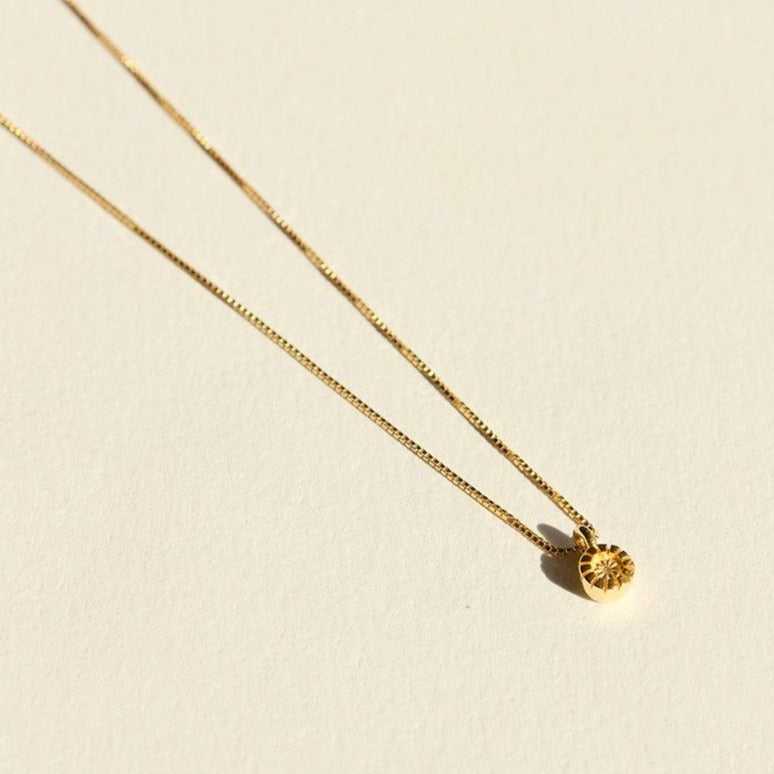Brie Leon - Row Drop Necklace in Gold