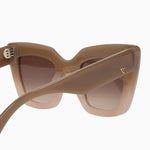 Brigada - Toffee Fade to Ivory / Brown Gradient Lens