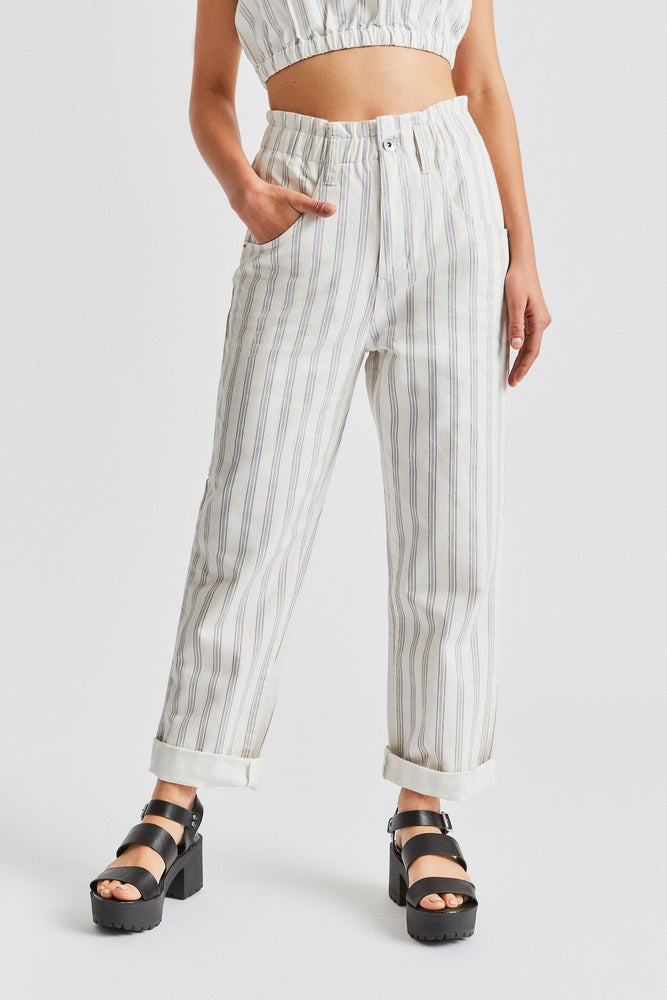Brixton - Doyle Pant in Off White