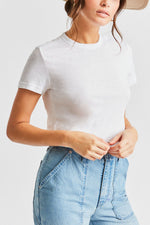 Brixton - Karlie S/S Baby Tee in White