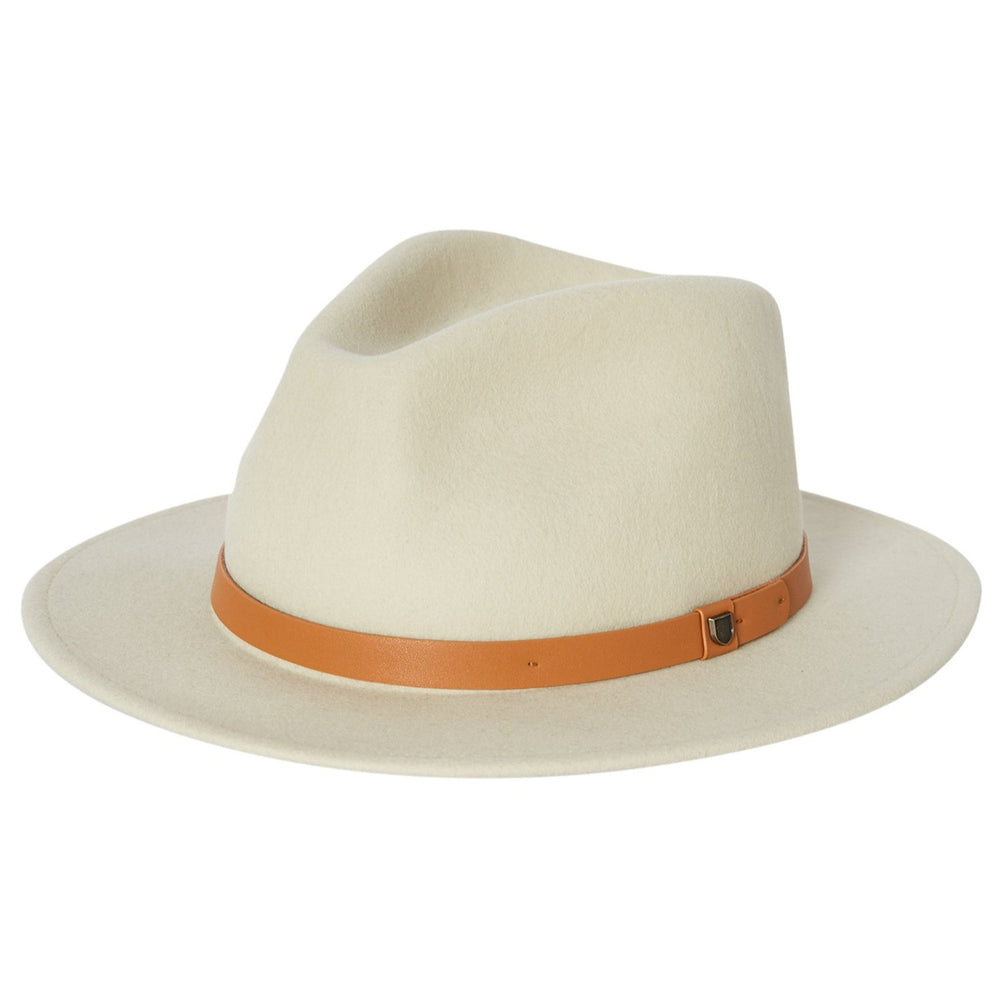 Brixton - Messer Fedora in Gravel