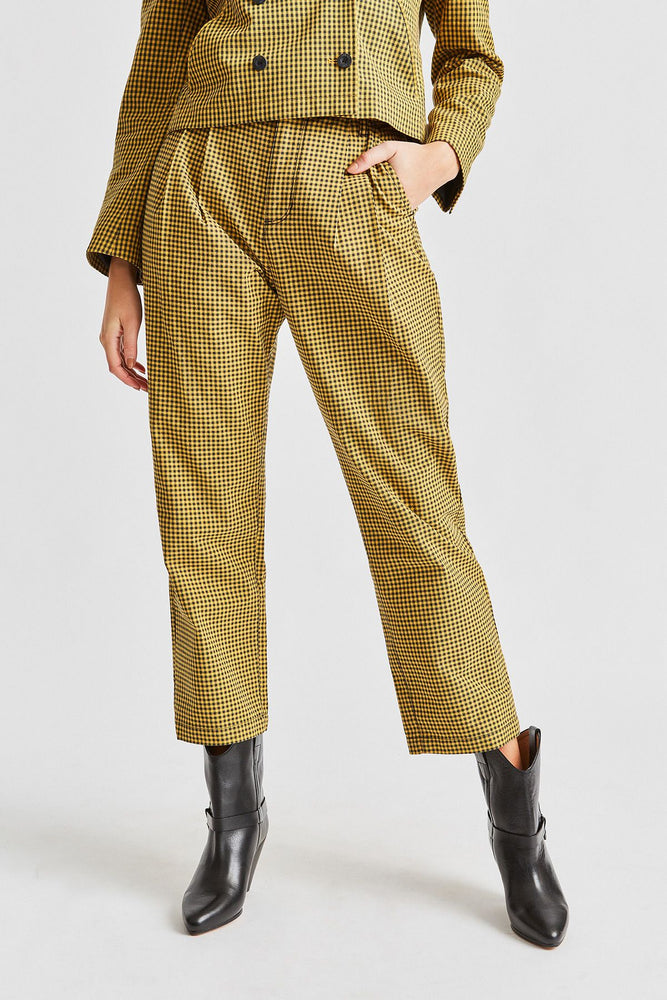 Brixton - Natalia Trouser Pant in Sunset Yellow
