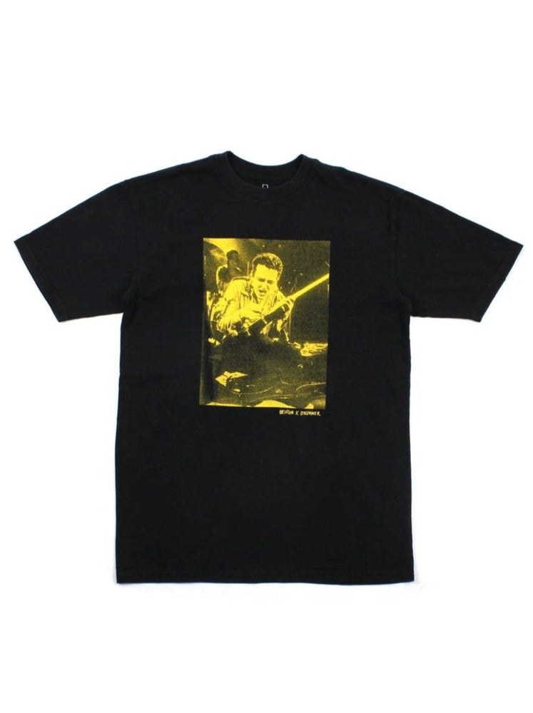 Brixton - Strummer Stage S/S Tee  in Black