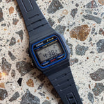 Casio - Military Band in Black/Beige/Blue