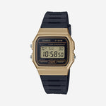 Casio - NPR Series Watch in Black/Gold, F91WM-9A