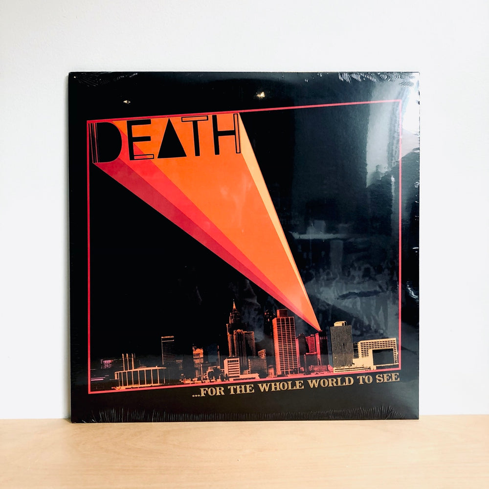 Death - For the Whole World to See. LP
