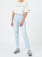 Dr Denim - Nora Jean - Superlight Blue Ripped
