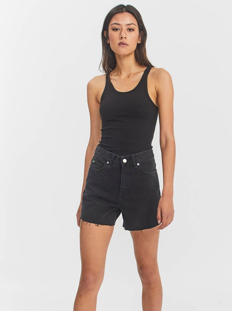Dr Denim - Nora Short in Retro Black