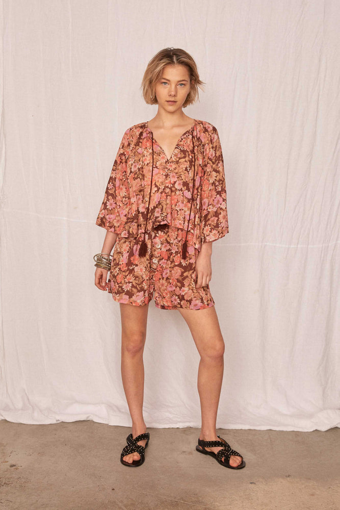 Kinga Csilla - Fields Floral Blouse