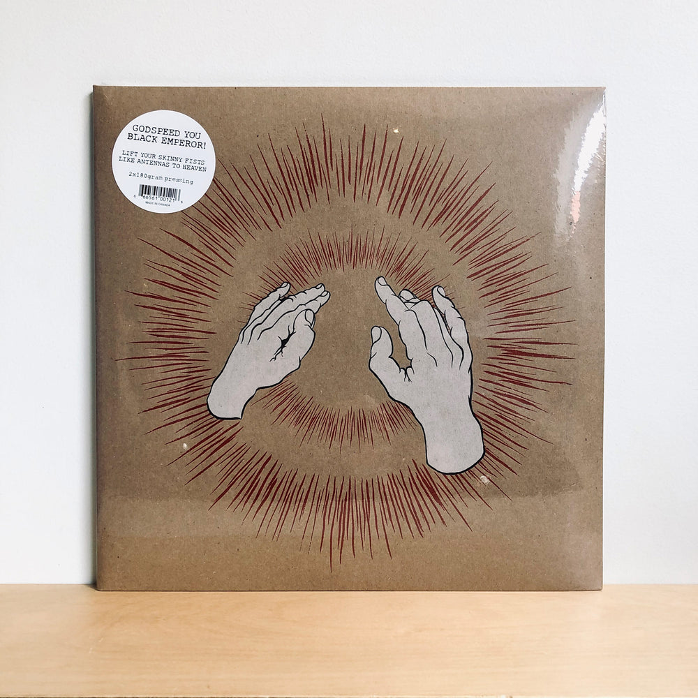 Godspeed You! Black Emperor - Lift Your Skinny Fists Like Antennas To Heaven. 2LP