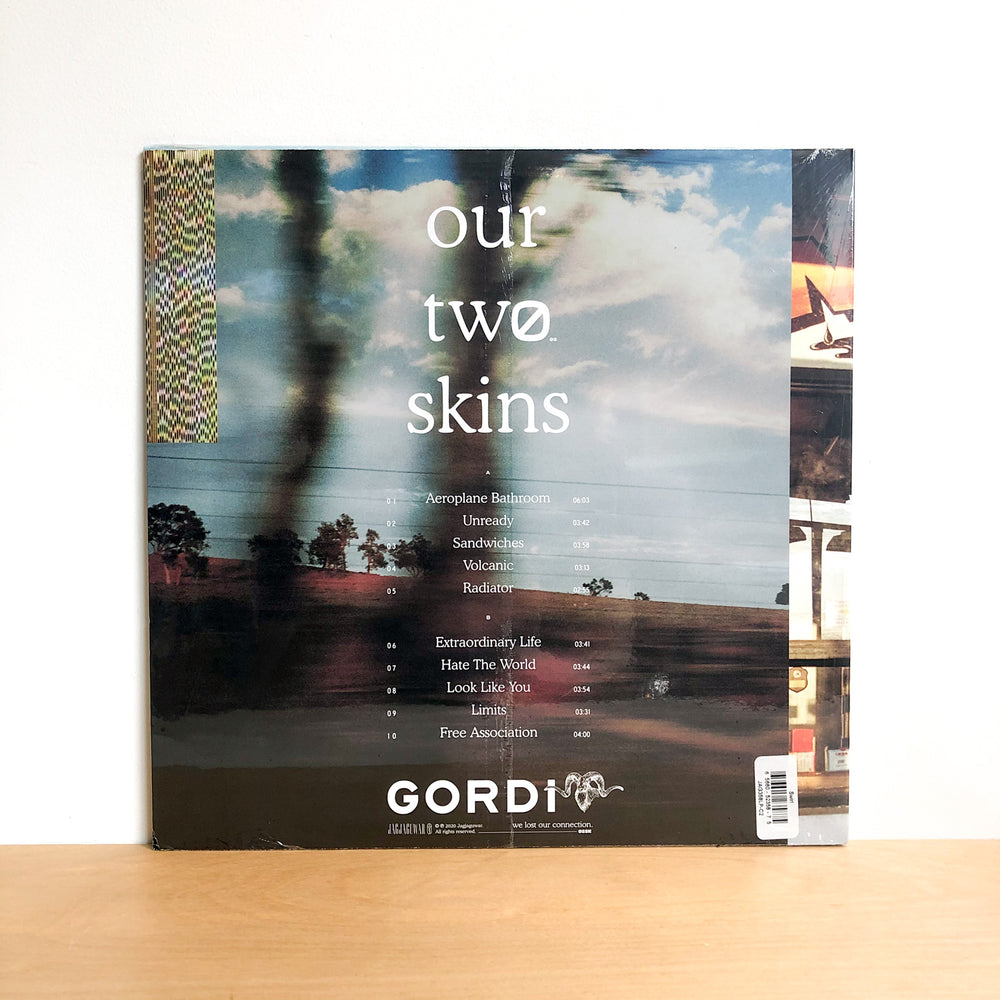 Gordi - Our Two Skins. LP [Ltd Ed. Orange/Blue Swirls]