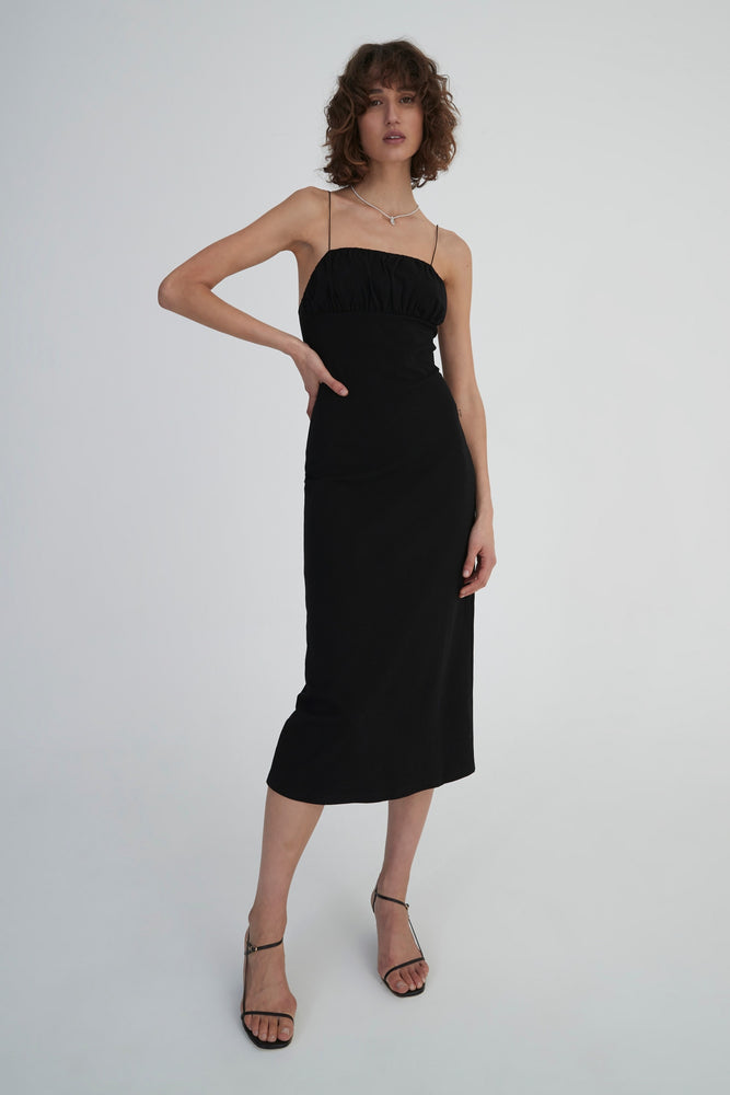 Hansen & Gretel - Anja Dress in Black