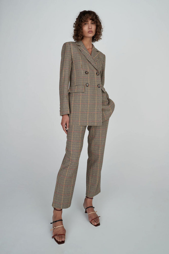 Hansen & Gretel - Tabatha Jacket in Check