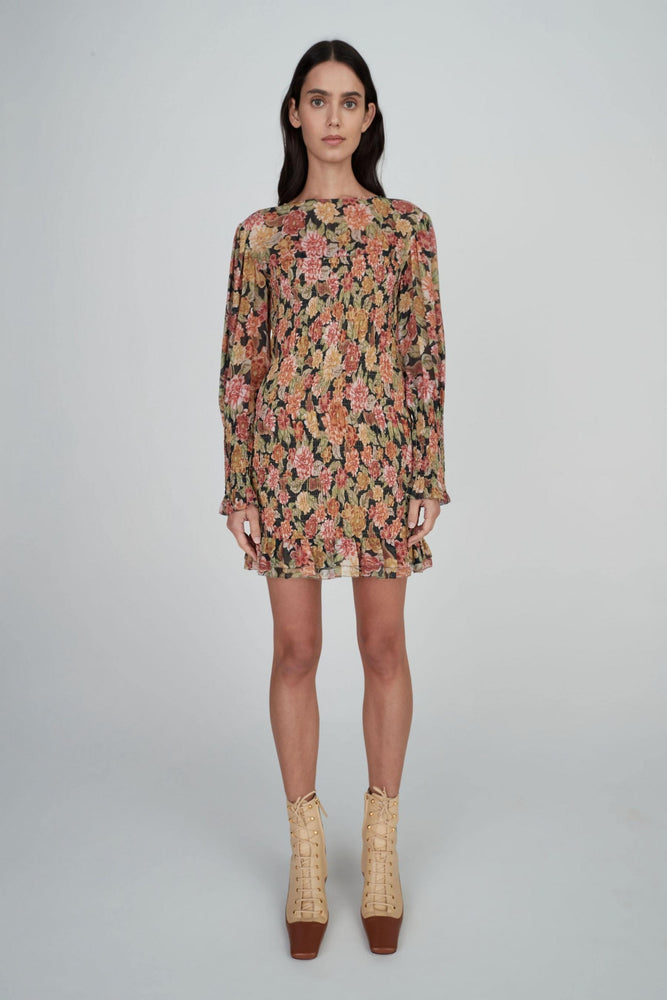 Hansen & Gretel - Tambar Silk Dress in Wallflower