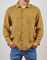 Hemp Clothing Australia - Heritage Shirt in Mustard